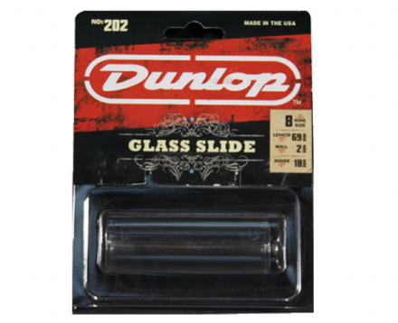 Dunlop 202 Medium Glass Slide
